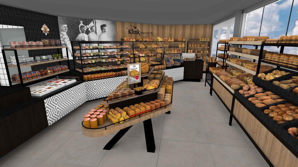 Impressie nieuwe winkel KJ plein