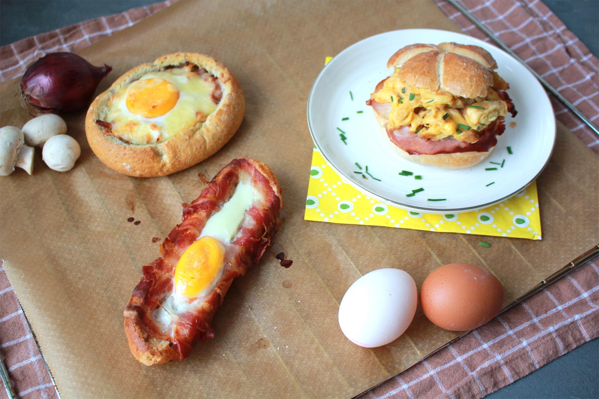Bakker Klink Gevuld broodje ei