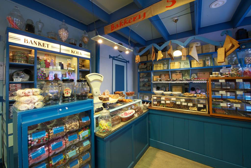 Bakkerijmuseum De Oude Bakkerij winkelinrichting